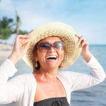 Happy Dental Implants Candiate